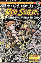 Marvel Feature Comic Book 2nd Series #2 Red Sonja 1976 VERY FINE+ - $7.61