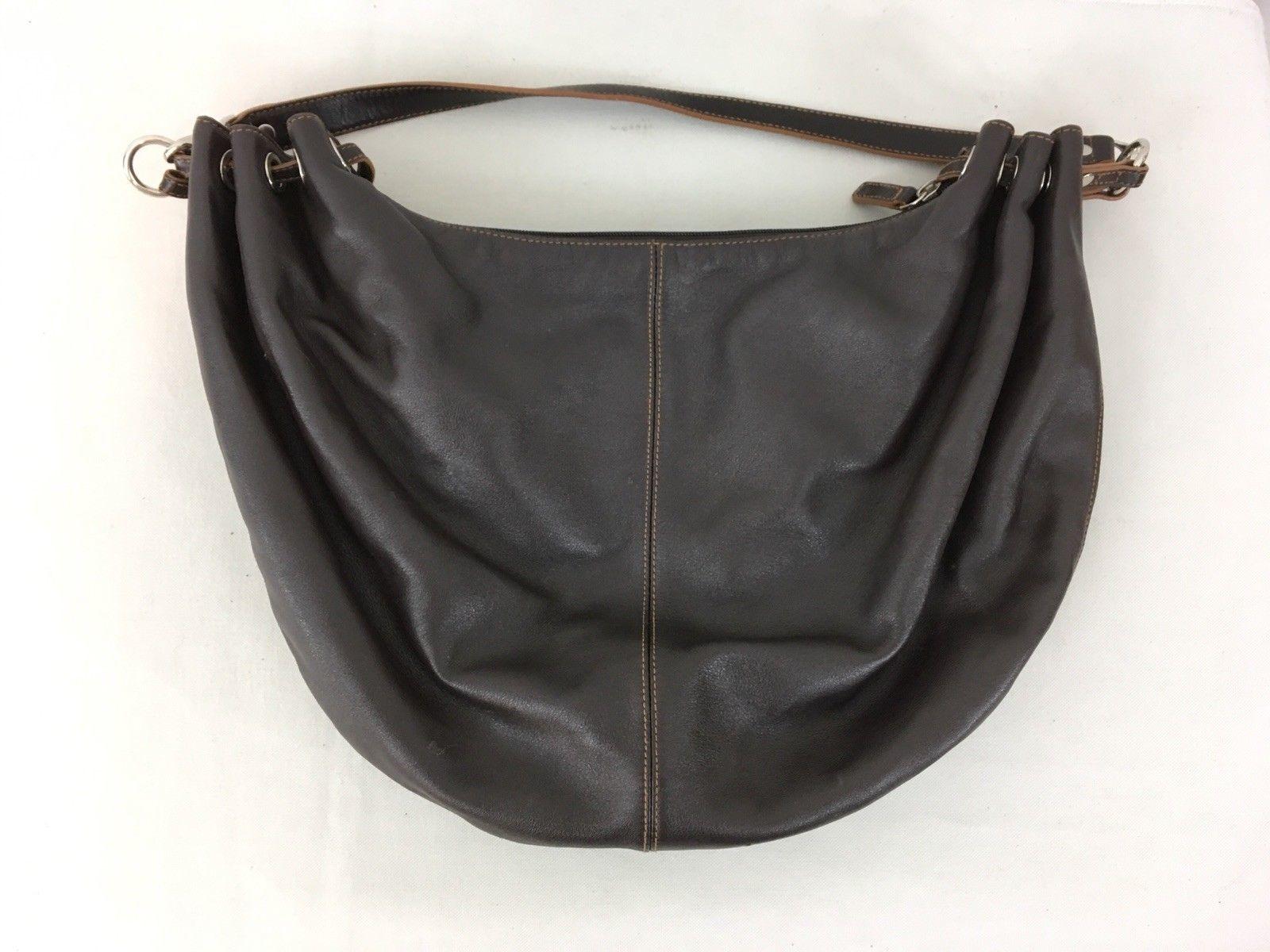 491e96f25e RLL Lauren Ralph Lauren Medium Brown Leather Purse Satchel Handbag