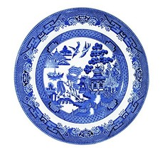 "Churchill Blue Willow Fine China Earthenware Salad Plate 8"" Set Of 6, Ma... - $77.19"