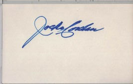 JOCKO CONLAN Auto/Autograph 3x5 Index Card HOF MLB Umpire (1899-1989) - $8.96