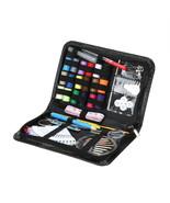 Sewing Thread Set 91 Pcs Coil Buttons Hooks Needles Safty Pin Needlework... - $11.61