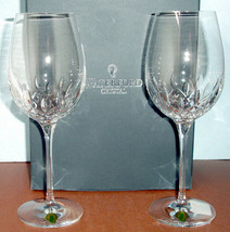 Waterford Lismore Essence Crystal Goblet 2 Piece Set #143781 New In Box - $148.90