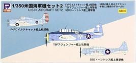 *Pit road 1/350 World War II US Navy machine set 2 Plastic - $19.70