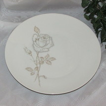 "Rosenthal Classic Rose Vintage Dinner Plate 10 3/8"" Germany Gold Brown China - $26.84"