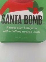 Da Bomb Santa Bath Bomb Sugar Plum Fizzer And Surprise Inside 3.5oz  image 7