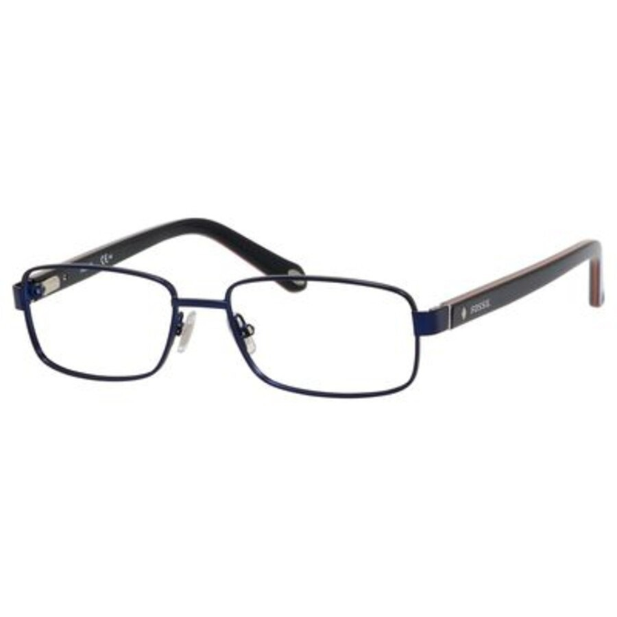 FOSSIL Eyeglasses FOS-6036-HGA00-54 Size 54mm/16mm/Square BRAND NEW W CASE - $28.78