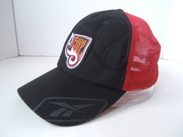 Rhein Fire Football Hat NFL Europe Reebok Snapback Mesh Trucker Baseball Cap - $76.87