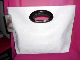 Jessica Simpson Large White Shopper Tote Bag. New - $26.72