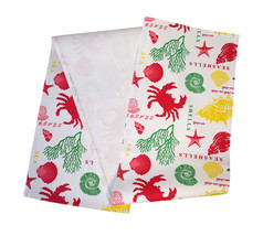 Cotton Table Runner Under the Sea - $15.79