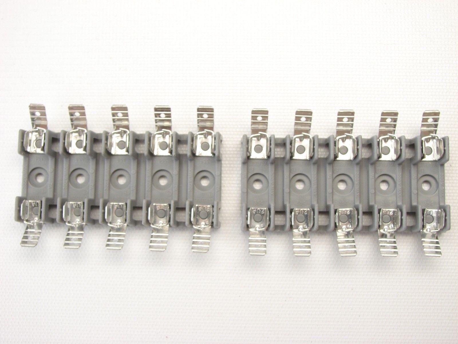 Lot Of 2 Littelfuse 354805 Gy Omni Blok 354 And 38 Similar Items Fuse Box Holder 5 Gang Block