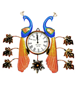 Decorative Wall Clock/Living Room of Two Peacock Wall Clock with Leaf - $92.99