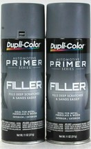 2 Cans Dupli-Color 11 Oz Automotive Primer Series FP101 Gray Filler Primer - $23.99