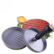 Hamburger Press Set Aluminum Alloy Round Shape Meat Beef Grill Patty Mak... - $15.42