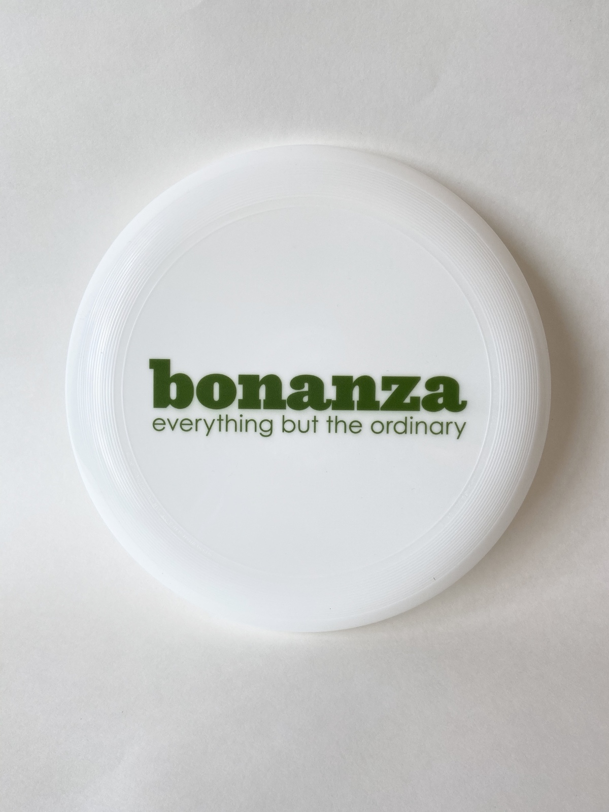 "Primary image for ""Everything But The Ordinary"" Bonanza Frisbee"
