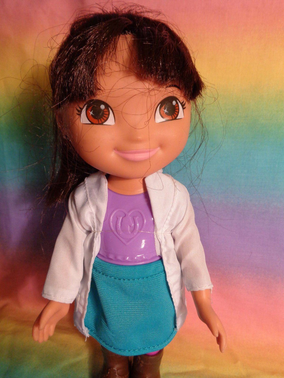 Mattel 2013 Dora The Explorer Doll Dressed w/ Boots - as is