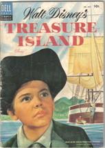 Walt Disney's Treasure Island Four Color Comic Book #624 Dell 1954 VERY ... - $13.54