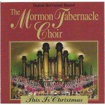This Is Christmas by Mormon Tabernacle Choir [Audio CD] Mormon Tabernacl... - $11.27