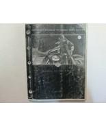 2001 Harley Davidson FLT Touring Models Motorcycles Parts Catalog Manual... - $59.35