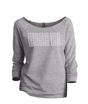 Thread Tank Compassion Rocks Women's Slouchy 3/4 Sleeves Raglan Sweatshirt Sport - $24.99+