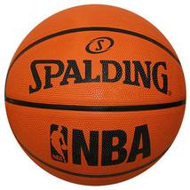 "Spalding NBA Rubber Basketball Official Game Ball Size 7 / 29.5"" 71-047Z - $33.99"