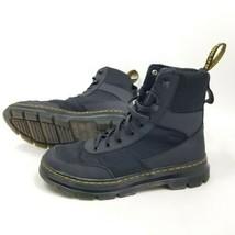 Dr. Martens Mens 9 US Combs Tech Nylon Combat Boots Black 42 EU Doc Martens - $92.97