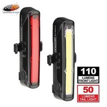 Cygolite Hotrod 110 Lumen Front Light & Hotrod 50 Tail Light USB Recharg... - $79.77