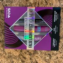 Maybelline New York False Lash Effect Volume Kit 3 pc set - $9.49