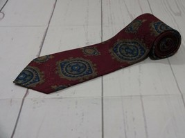 Editions by Van Heusen Purple Paisley Design Designer Men's Neck Tie EUC... - $6.99