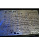 DATED 1740 BRITISH INDENTURE DOCUMENT SIGNED AND SEALED FOR POOR CHILD P... - $158.40
