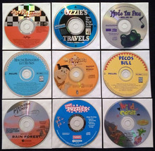 9 Vintage Win/Mac-CDs: Kids Lot #6 1995 - $15.00