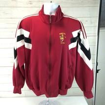 Vintage Minnesota Gophers Adidas Track Jacket Large Soccer Team Issued - $49.49