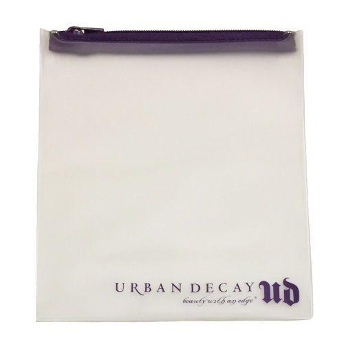Urban Decay Reusable TSA-Friendly Travel Bag, Clear with Zipper - $7.87