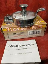 Vintage Harbor Freight Tools Metal Hamburger Press Item 44934 image 6