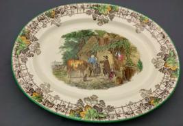 """Copeland Spode's Byron 15"""" Large Oval Platter.Old Backstamp. - $53.13"""
