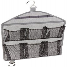 Mesh Hanging Organizer 6 Pocket Travel Bathroom Kitchen Tub Shower Caddy... - $7.40