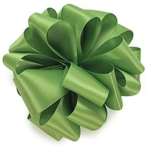 Offray Single Face Satin Craft Ribbon, 7/8-Inch by 20-Yard Spool, Kiwi - $12.48