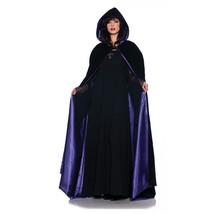 Underwraps 63 Inch DLX Velvet and Satin Cape Purple Halloween Costume On... - $26.95