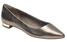 Womens Rockport Total Motion Adelyn Ballet Flats Metallic Snake Size 7 [... - $74.99
