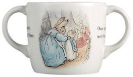 DOUBLE HANDLE MUG WEDGWOOD PETER THE RABBIT NIB - $39.60