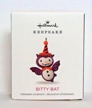 2018 Hallmark Halloween Miniature Ornament Bitty Bat Vampire Mini Keepsake - $10.90
