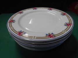 "Beautiful NIKKO China ""Victoria"" Made in Thailand-  5 BREAD-SALAD-Plates 8""D - $22.58"