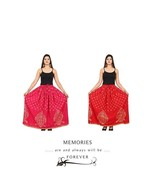 Set of 2 Rajasthani Traditional Cotton Skirt Maxi Belly Dancing Elegant ... - $35.17