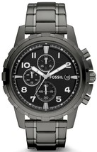 Fossil Dean Chronograph Smoke Grey Ion Plated Fs4721 Men's Watch - $186.00