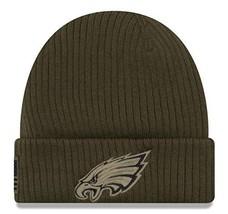 Era 2018 Mens Salute to Service Knit Hat Philadelphia Eagles - $25.63