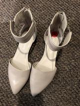 Franco Sarto Ankle Strap Flats Size 6 - $38.00