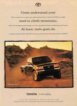 1998 Toyota Tacoma 4x4 Magazine Print Ad - $4.75