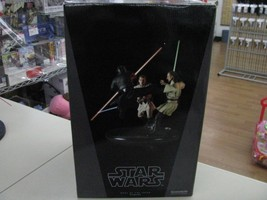 STAR WARS EP1 Diorama Statue duel of the fates Side Show 1250 World limi... - $1,469.01