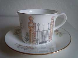 Royal Worcester Secret Garden Cup and Saucer - $25.33