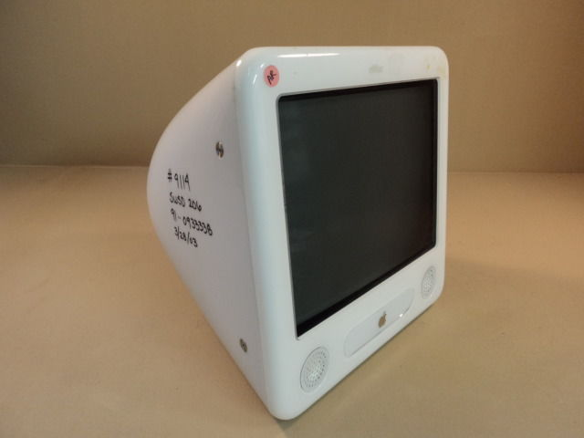 Apple eMac 17in PowerMac PowerPC G4 700MHz 40GB Hard Drive CDRW A1002 EMC 1903
