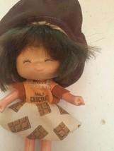 "Vintage Milk Chocolate Candy Bar 5"" Doll Dress Hat 1980s Strawberry Shor... - $19.80"